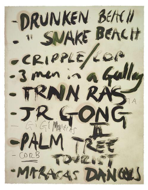 , 'Drunken Beach,' 2016, Two Palms