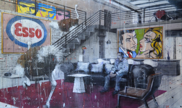 , 'Misplaced Interior - Schifano,' 2017, Eden Fine Art