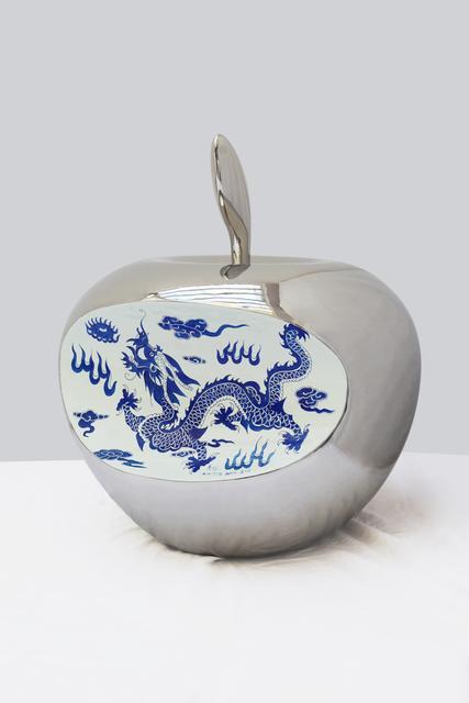 Li Lihong, 'Apple's China - 80cm', 2015, Sculpture, Stainless steel, Galerie Loft