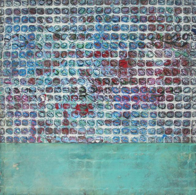 Paul Ecke, 'Fractal 176', 2012, Painting, Mixed media on panel, Ian Tan Gallery