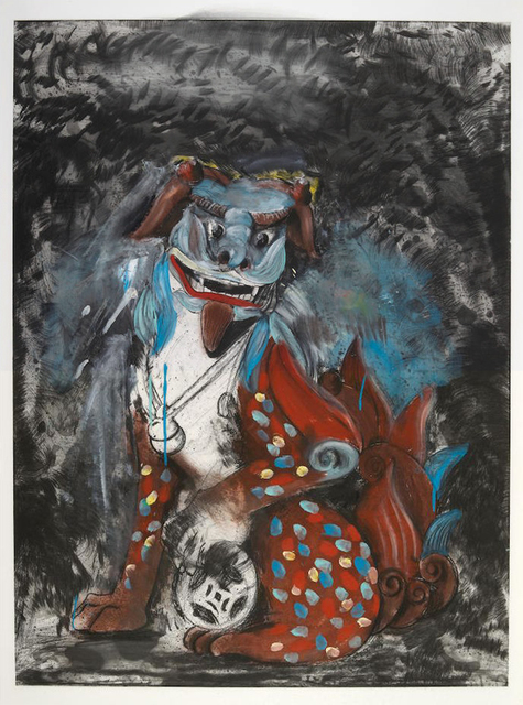 Jim Dine, 'Fo Dog in Hell', 1990, Kenneth A. Friedman & Co.