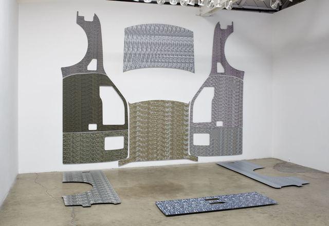 Thomas Macker, 'Truck Wrap (Alien, Bound Figure, Chameleon, Drone, Harp, Intestines, ISIS Flag, Raccoon, Shooting Cop, Snowden, Vapor)', 2015, Klowden Mann