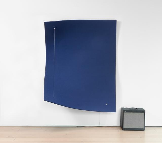 , 'Work On Felt (Variation 14) Dark Blue, 2017,' 2017, Paul Kasmin Gallery