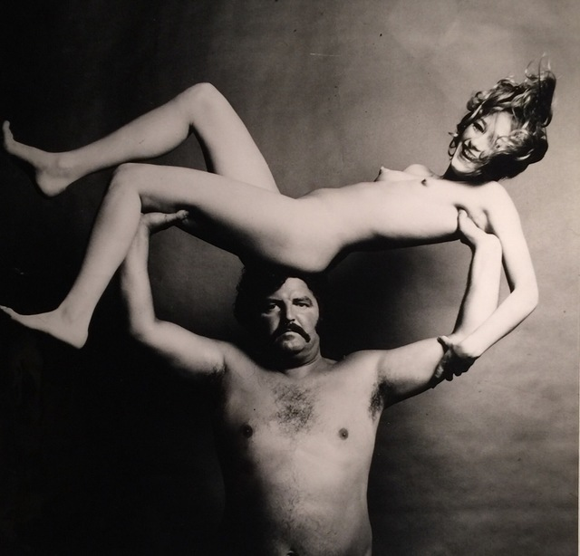 Guy Bourdin, 'Nude & Strongman in Joy', ca. 1972, Grob Gallery