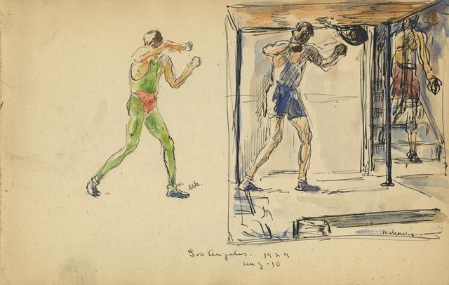 , 'Los Angeles, Aug. 10, 1929,' 1929, Anthony's Fine Art