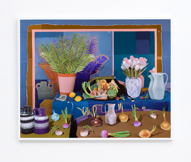 , 'Still Life with Vegetables and Tulips,' 2017, M+B