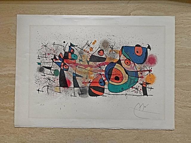 "Joan Miró, '""Ceramique"" from 'Ceramiques de Miro et Artigas'', 1974, Print, Lithograph, Leviton Fine Art"