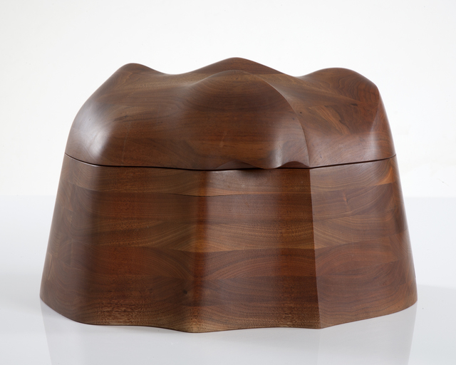 , 'Unique jewelry box in stack-laminated black walnut,' 1973, R & Company