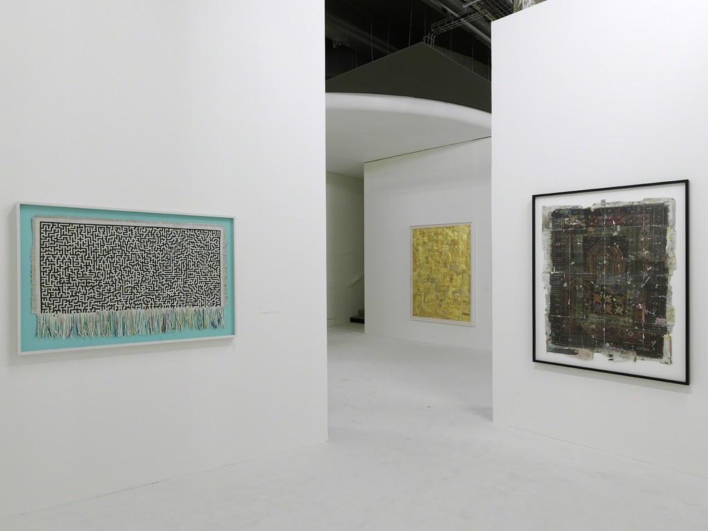 Exhibition view of Simon Evans, Not Not Knocking On Heaven's Door, Palais de Tokyo (19.02 – 16.05.2016). Courtesy of the artist & James Cohan Gallery (New York, Shanghai) Photo: André Morin.