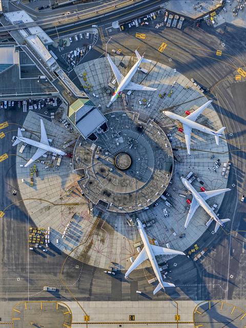 , 'Newark Airport Terminal B,' 2017, Kopeikin Gallery