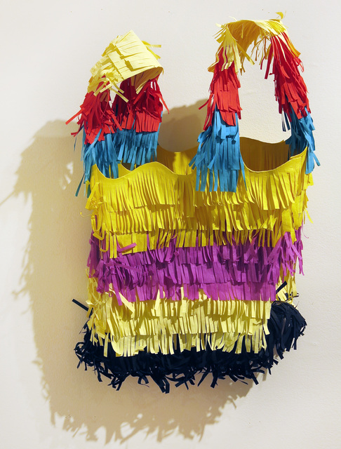 , 'Large Piñata Bag (in Honor of Mexican Immigrant Appreciation Day),' 2016, Edward Thorp Gallery