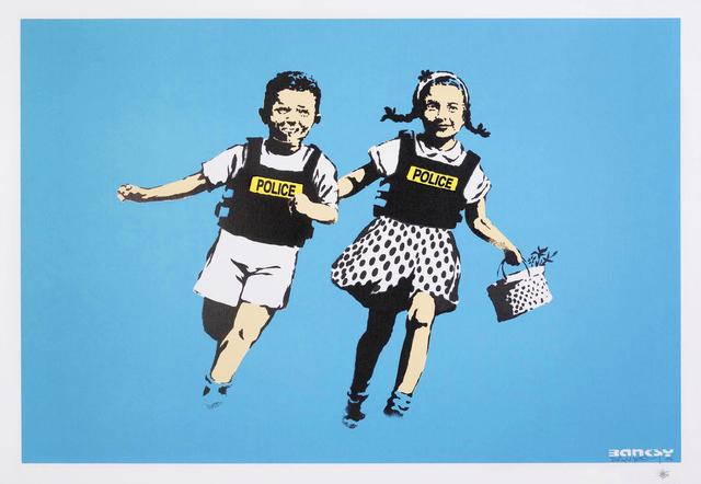 Banksy, 'Jack & Jill - Signed', 2005, Hang-Up Gallery