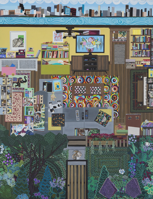 , 'Family Room (Artist),' 2017, Zevitas Marcus