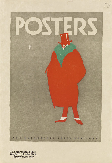 Fred G. Cooper, 'POSTERS', Circa 1910, Swann Auction Galleries