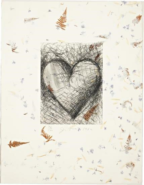 , 'The Jewish Heart (D'Oench and Jean Feinberg, 138),' 1982, Alpha 137 Gallery