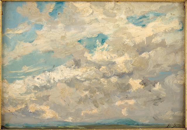 , 'Overcast,' , Musée d'Ixelles