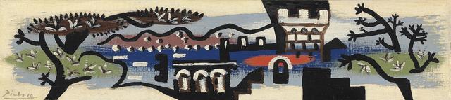 , 'Paysage de Juan-Les-Pins,' 1925, Gladwell & Patterson