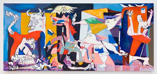 , 'Guernica,' 2018, MARTOS GALLERY