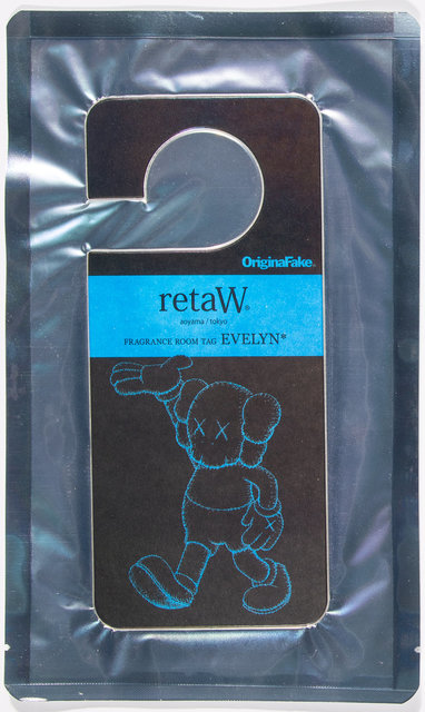 KAWS, 'Fragrence Room Tag Evelyn', Other, Scented card, Heritage Auctions