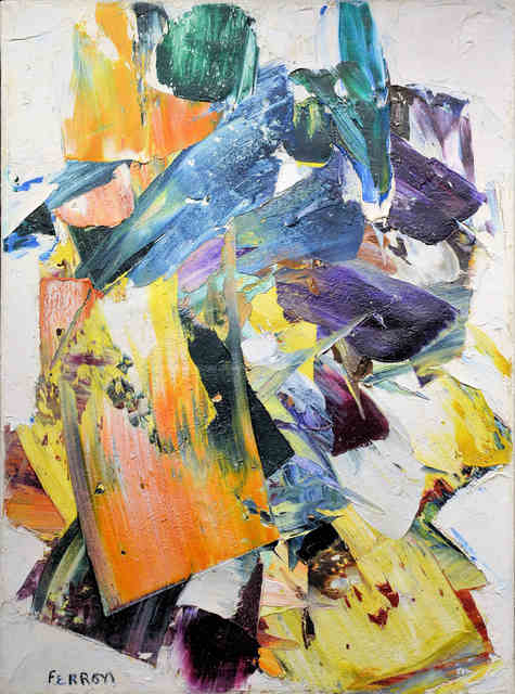 , 'Composition #14,' 1961, Canadian Art Group