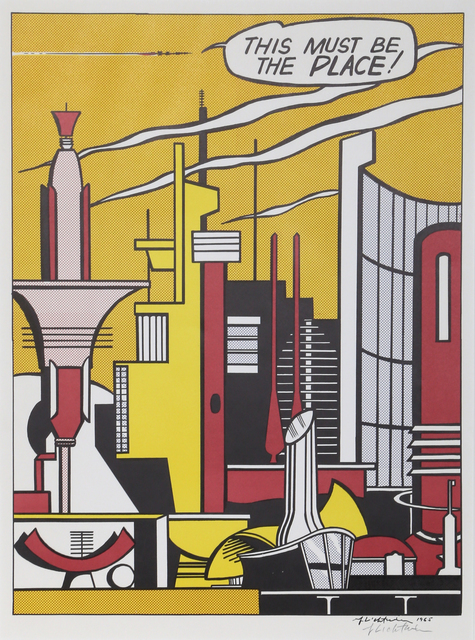Roy Lichtenstein, 'This Must Be the Place (C.III.20)', 1965, RoGallery