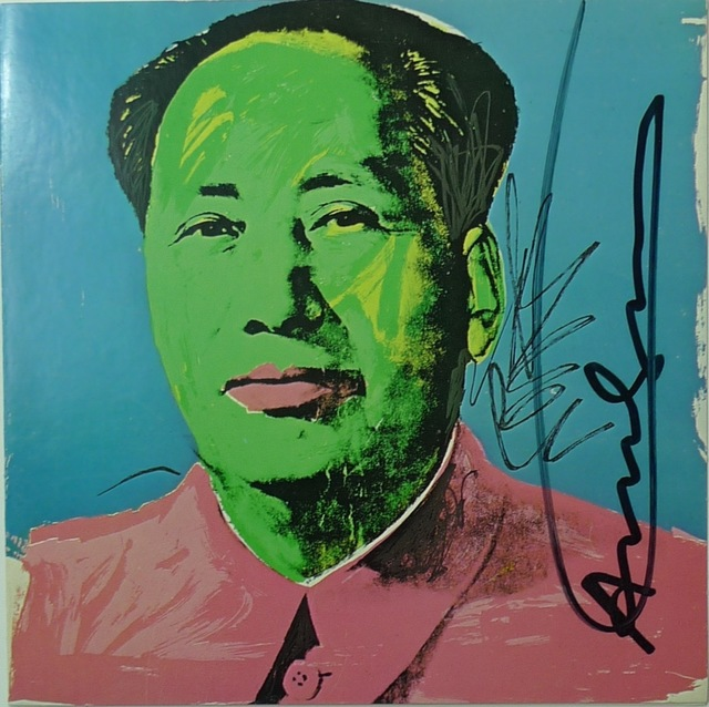 Andy Warhol, 'Mao Tse-Tung by Andy Warhol', 1972, Ephemera or Merchandise, Print on paper, Bengtsson Fine Art