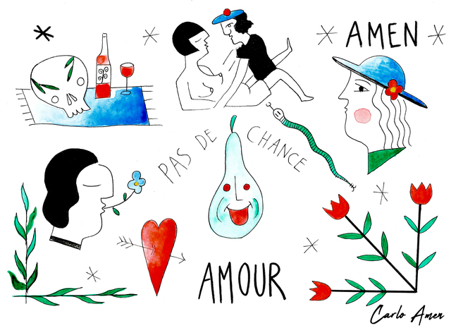 , 'De l'amour à la prison,' 2018, Spoke Art