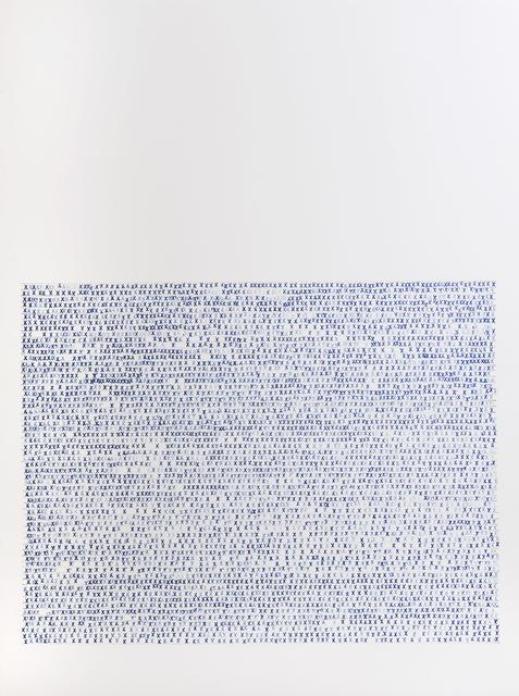 Sarah Irvin, 'X Stamp, No. 1', 2019, Massey Klein Gallery