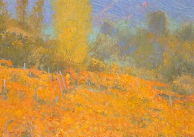 , 'Vineyard in Autumn,' 2018, Catto Gallery