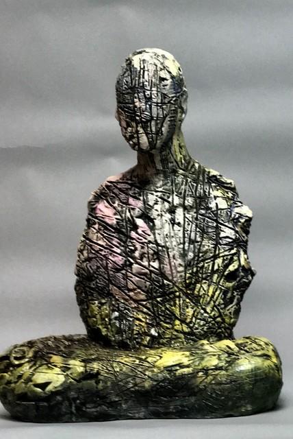 Wanxin Zhang, 'Disciple Series 9', 2017, Catharine Clark Gallery