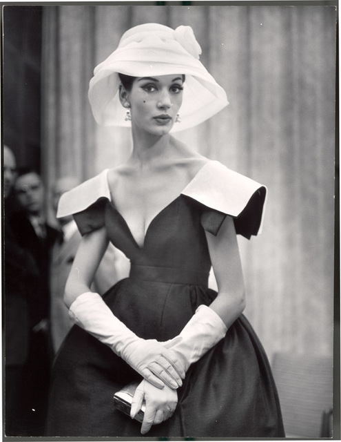 Nina Leen, 'Lady with White Hat and Gloves', 1959, Contessa Gallery