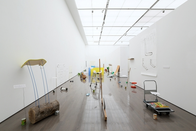 , 'L-shapes and Earthworms,' 2014, The National Art Center, Tokyo