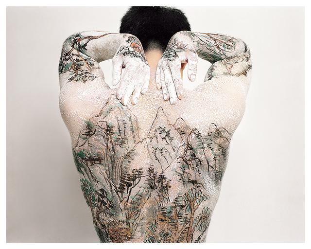 , 'Chinese Shan-shui Tattoo 10,' 1999, Leo Gallery