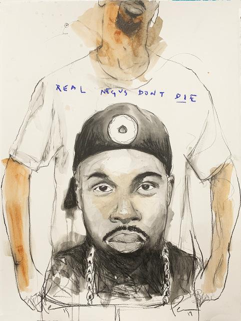 , 'REAL NEGUS DON'T DIE: Donuts (J Dilla),' 2019, Lyons Wier Gallery