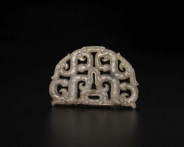 , 'Jade hui-dragon pendant in openwork,' Warring States Period, Art Museum of the Chinese University of Hong Kong