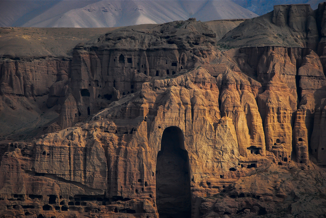 , 'Buddha of Bamiyan after the Taliban, Bamiyan, Afghanistan,' 2010, Peyton Wright Gallery