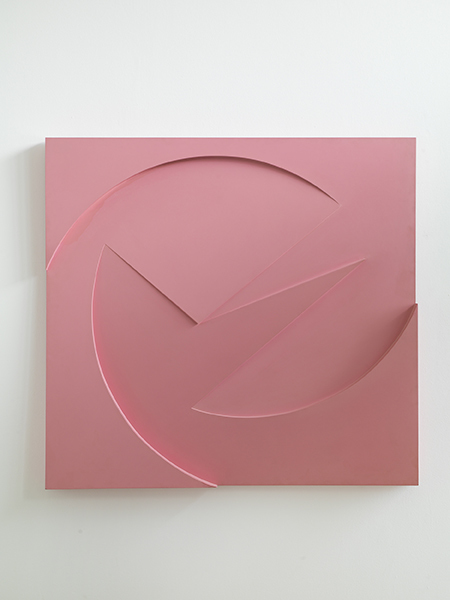 , 'Untitled - Pink Relief,' 1963, Pangolin