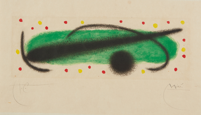 Joan Miró, 'Fusée (Rocket): one plate', 1959, Phillips