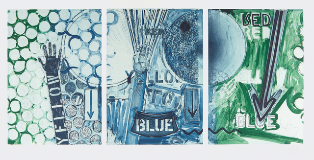 Jasper Johns, 'Untitled', 1998, Phillips