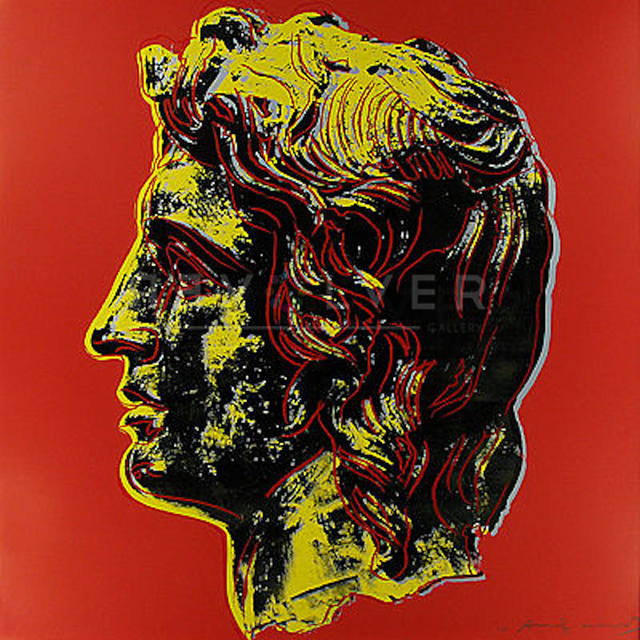 Andy Warhol, 'Alexander the Great (FS II.292)', 1982, Revolver Gallery