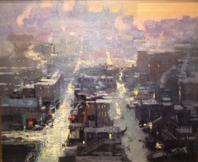 , 'Dawn, NYC,' 2018, Cavalier Ebanks Galleries