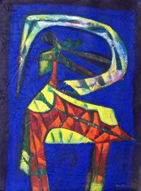 Raul Pozo Enmanuel, 'Formas en amarillo y rojo', 2009, MLA Gallery