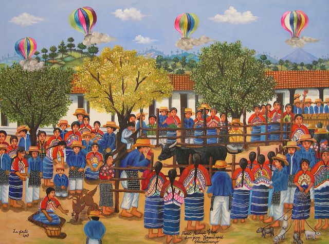 , 'A Happy Day in Comalapa,' 2007, GINA Gallery