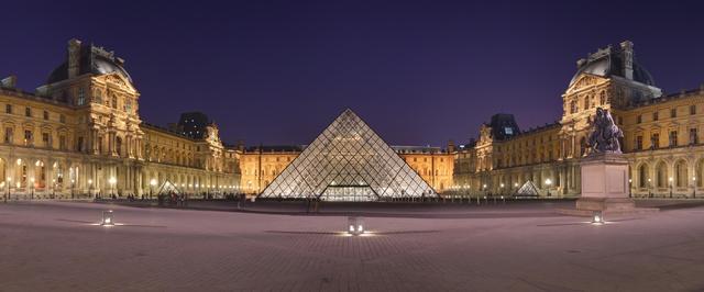 I.M. Pei, 'Louvre Pyramid', 1985-1993, Musée du Louvre