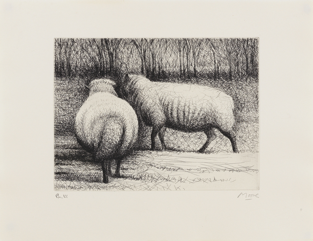 , 'Sheep,' 1972, Sims Reed Gallery