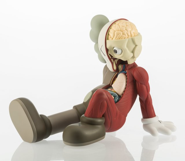 KAWS, 'Resting Place Companion', 2012, Sculpture, Painted cast vinyl, Heritage Auctions