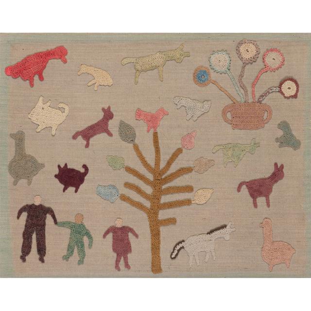 'Donaldson Cow Granny Blanket', 1930, PIASA