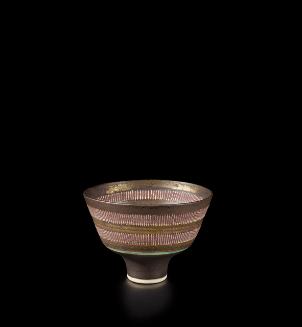 Lucie Rie, 'Footed bowl', 1985, Phillips