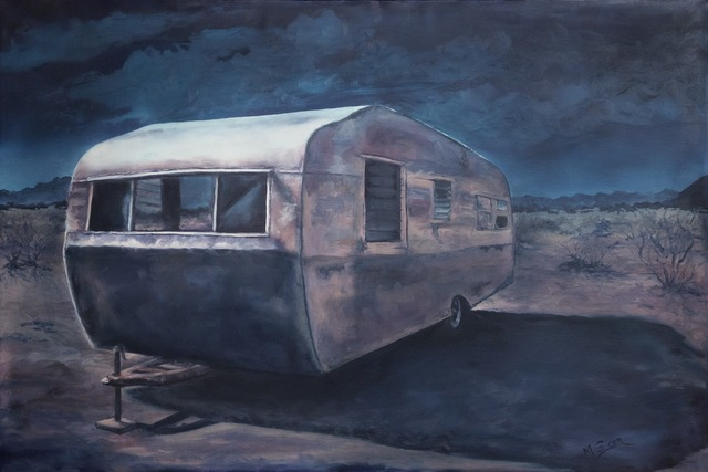 , 'Midnight Mojave Sonata,' 2014, Joshua Tree Art Gallery