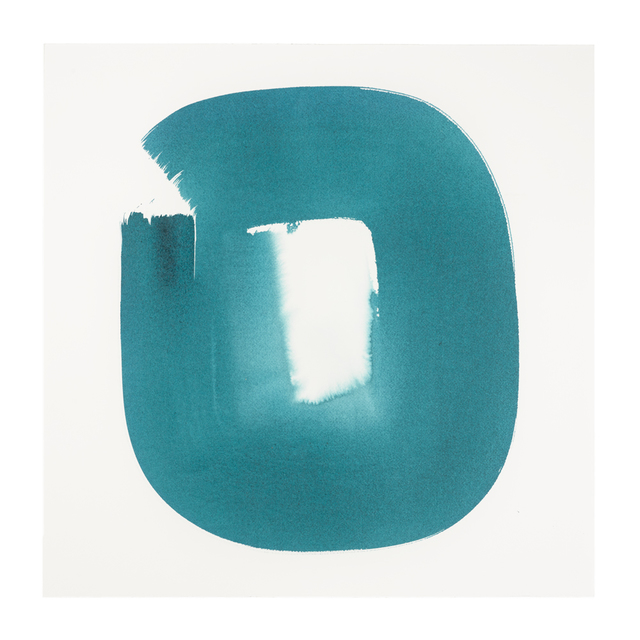 Veronique Gambier, 'Aperture in Turquoise XXI', 2015, Ground Floor Gallery